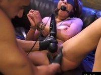 Господин связал прекрасную рабыню и жёстко её оттрахал