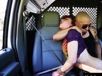 Подборка грубого траха дорожных шлюх с водителями
