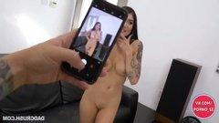 Агент снял голую девушку на камеру телефона и поимел ее на кастинге